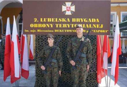 Nowi Terytorialsi zaprzysiężeni w Zamościu