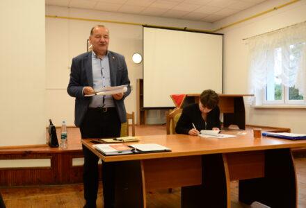 Zebranie wiejskie w sołectwie Lipsko w sprawie Funduszu Sołeckiego 2022 r.